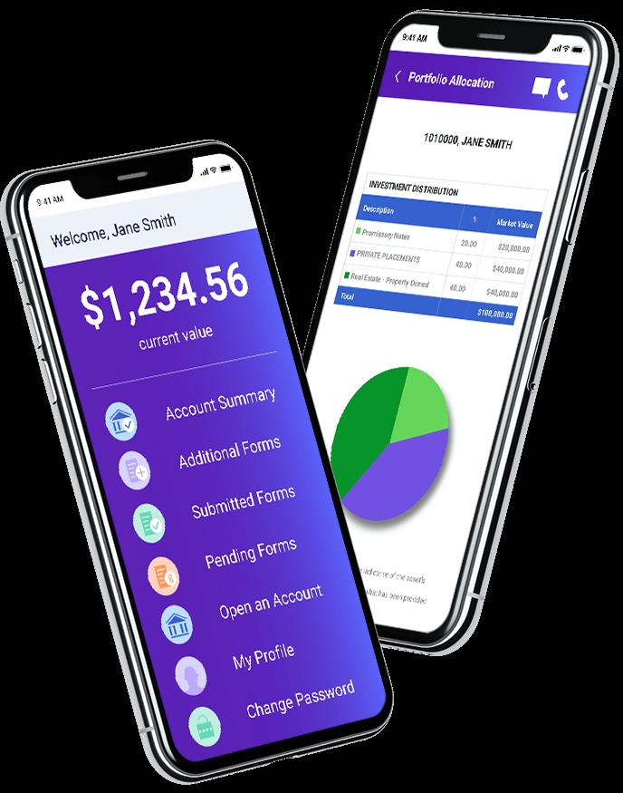 IRA Financial App